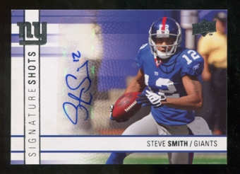 2009 Upper Deck Signature Shots #SSST Steve Smith USC Autograph