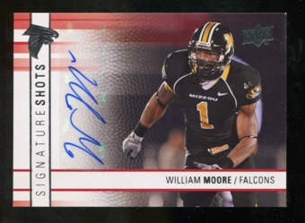 2009 Upper Deck Signature Shots #SSWM William Moore Autograph