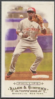 2009 Topps Allen and Ginter #76 Brandon Phillips Mini No Card Number #35/50