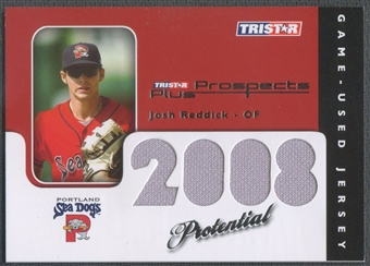2008 TRISTAR Prospects Plus #PJR Josh Reddick PROtential Game Used Jersey #175/199