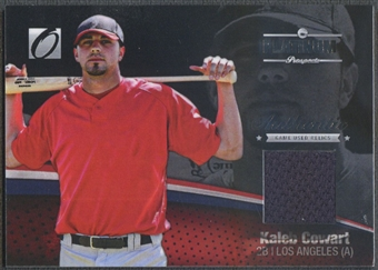 2012 Onyx Platinum Prospects #PPGU6 Kaleb Cowart Game Used Jersey #120/150