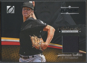 2012 Onyx Platinum Prospects #PPGU20 Jameson Taillon Game Used Jersey #480/500