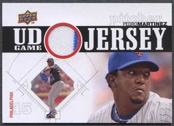 2010 Upper Deck #PM Pedro Martinez UD Game Jersey