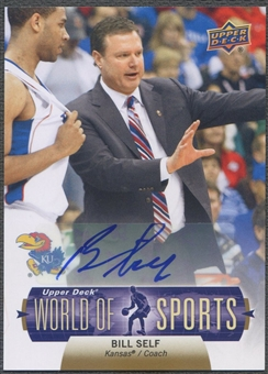 2011 Upper Deck World of Sports #327 Bill Self Auto