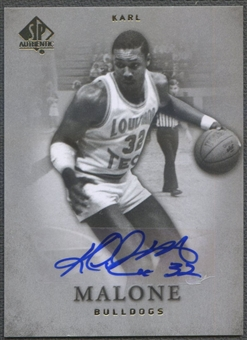 2012/13 SP Authentic #16 Karl Malone Auto