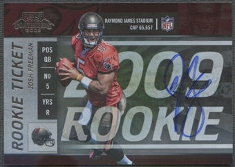 2009 Playoff Contenders #109 Josh Freeman Rookie Auto