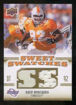 2010 Upper Deck Sweet Spot Sweet Swatches #SSW3 Albert Haynesworth