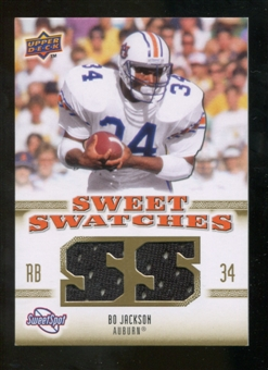 2010 Upper Deck Sweet Spot Sweet Swatches #SSW5 Bo Jackson