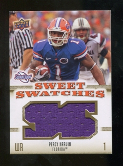 2010 Upper Deck Sweet Spot Sweet Swatches #SSW65 Percy Harvin