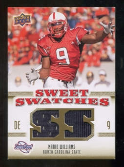 2010 Upper Deck Sweet Spot Sweet Swatches #SSW68 Mario Williams