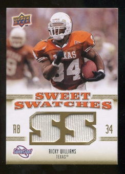 2010 Upper Deck Sweet Spot Sweet Swatches #SSW69 Ricky Williams