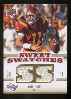 2010 Upper Deck Sweet Spot Sweet Swatches #SSW57 Matt Leinart