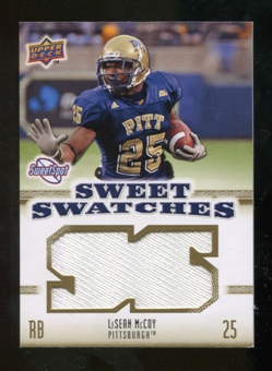 2010 Upper Deck Sweet Spot Sweet Swatches #SSW50 LeSean McCoy