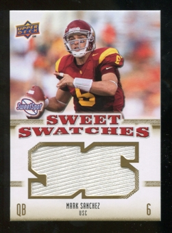 2010 Upper Deck Sweet Spot Sweet Swatches #SSW54 Mark Sanchez