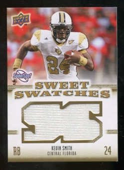2010 Upper Deck Sweet Spot Sweet Swatches #SSW44 Kevin Smith