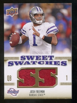 2010 Upper Deck Sweet Spot Sweet Swatches #SSW41 Josh Freeman