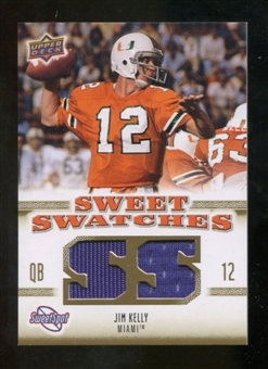 2010 Upper Deck Sweet Spot Sweet Swatches #SSW38 Jim Kelly