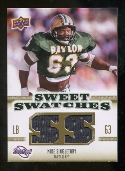 2010 Upper Deck Sweet Spot Sweet Swatches #SSW31 Mike Singletary