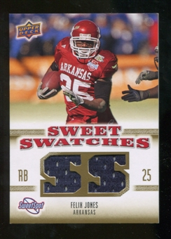 2010 Upper Deck Sweet Spot Sweet Swatches #SSW26 Felix Jones