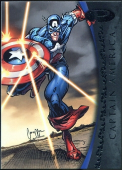 2012 Upper Deck Marvel Premier #7 Captain America /199