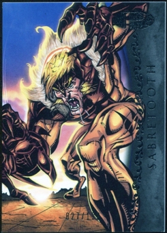 2012 Upper Deck Marvel Premier #46 Sabretooth /199