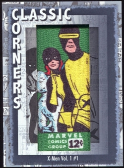 2012 Upper Deck Marvel Premier Classic Corners #CC1 X-Men #1 D