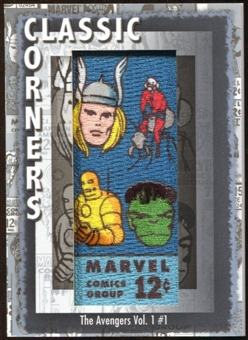2012 Upper Deck Marvel Premier Classic Corners #CC2 The Avengers #1 D