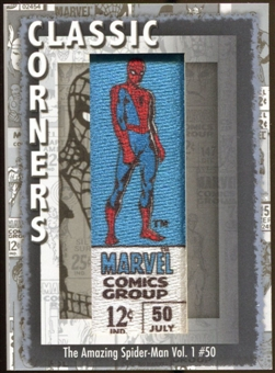 2012 Upper Deck Marvel Premier Classic Corners #CC8 The Amazing Spider-Man #50 D