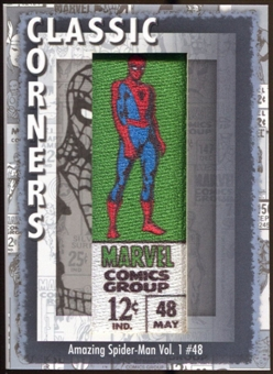 2012 Upper Deck Marvel Premier Classic Corners #CC11 The Amazing Spider-Man #48 D