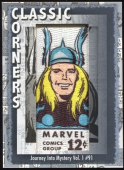 2012 Upper Deck Marvel Premier Classic Corners #CC12 Journey Into Mystery #91 D