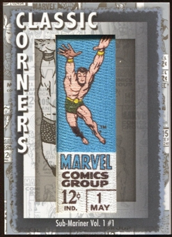 2012 Upper Deck Marvel Premier Classic Corners #CC13 Sub-Mariner (Vol. 1) #1 D