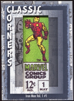 2012 Upper Deck Marvel Premier Classic Corners #CC19 Iron Man (vol. 1) D