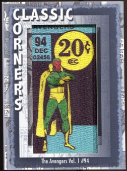 2012 Upper Deck Marvel Premier Classic Corners #CC32 The Avengers #94 C