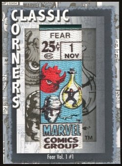 2012 Upper Deck Marvel Premier Classic Corners #CC33 Fear #1 D