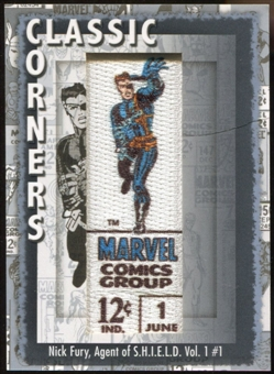 2012 Upper Deck Marvel Premier Classic Corners #CC39 Nick Fury D