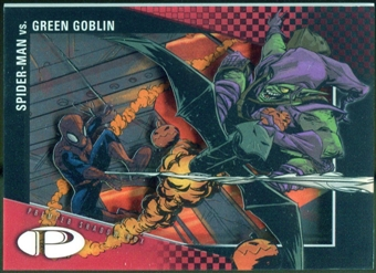 2012 Upper Deck Marvel Premier Shadowbox #S1 Spider-Man/Green Goblin D