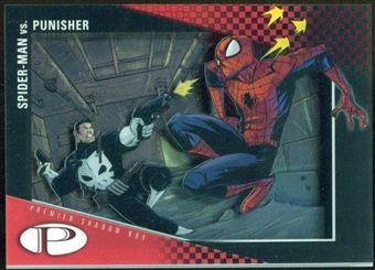 2012 Upper Deck Marvel Premier Shadowbox #S3 Punisher/Spider-Man A