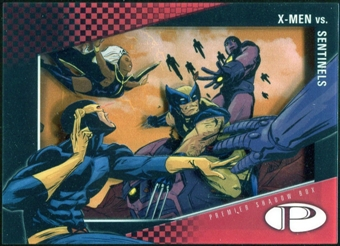 2012 Upper Deck Marvel Premier Shadowbox #S20 X-Men/Sentinels D