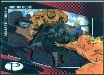 2012 Upper Deck Marvel Premier Shadowbox #S34 Fantastic Four/Doctor Doom C