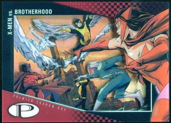 2012 Upper Deck Marvel Premier Shadowbox #S35 Brotherhood/X-Men B