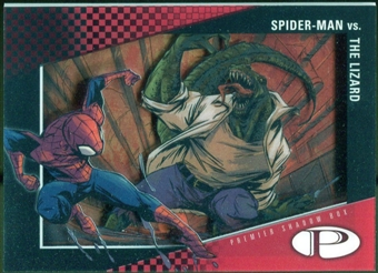 2012 Upper Deck Marvel Premier Shadowbox #S37 Lizard/Spider-Man B