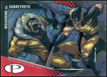 2012 Upper Deck Marvel Premier Shadowbox #S41 Sabretooth/Wolverine D