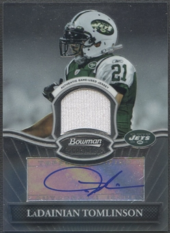 2010 Bowman Sterling #BSARLT LaDainian Tomlinson Jersey Auto