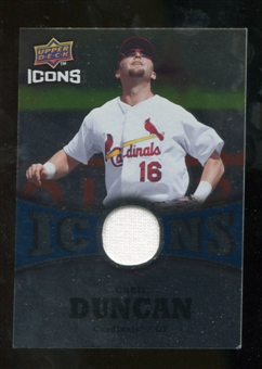 2009 Upper Deck Icons Icons Jerseys #CD Chris Duncan