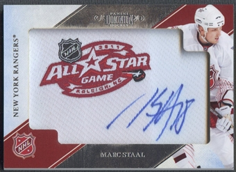 2010/11 Dominion #33 Marc Staal NHL All-Star Memories Embroidered Patch Auto #14/15