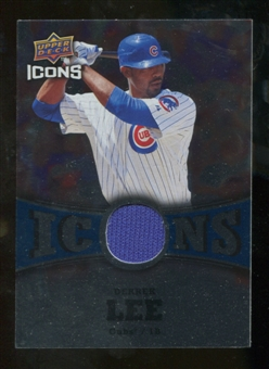 2009 Upper Deck Icons Icons Jerseys #DL Derrek Lee