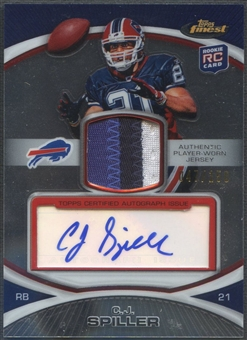 2010 Finest #7 C.J. Spiller Rookie Patch Auto #047/150