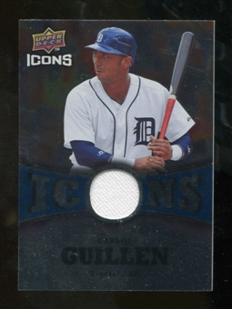 2009 Upper Deck Icons Icons Jerseys #GU Carlos Guillen