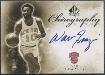 2008/09 SP Authentic #CWF Walt Frazier Chirography Auto
