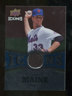 2009 Upper Deck Icons Icons Jerseys #JM John Maine
